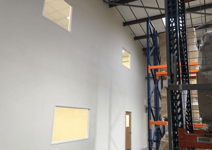 Office Mezzanine Floor in Warehouse