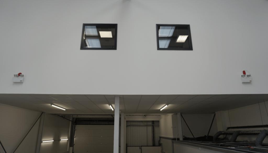 Office Mezzanine In Industrial Unit