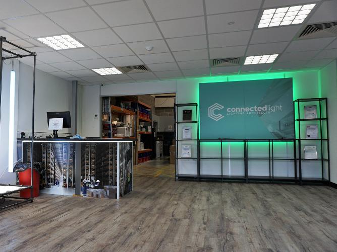 Storage Mezzanine With Trade Counter