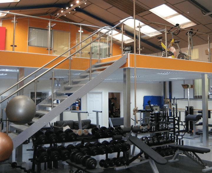 Gym Mezzanine Floor South West