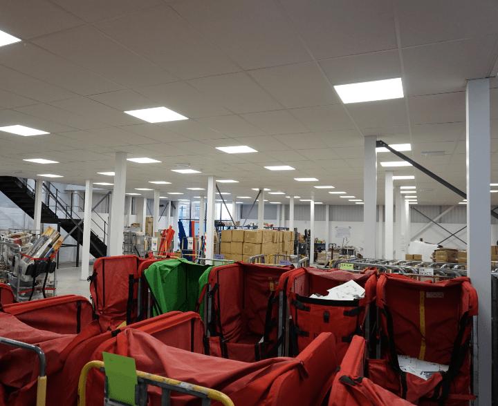 Mezzanine Floor Fire Rated Columns