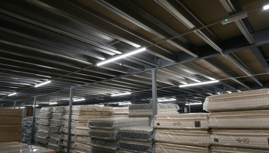 Mezzanine Floor Storage Retail
