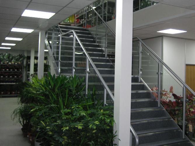 Retail Mezzanine Floor with Fire Rating